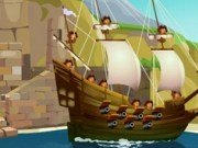 Joc de strategie cu pirati