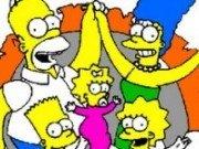 Coloreaza Familia Simpson
