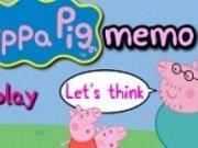 joc de memorie cu Peppa Pig
