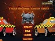 Cursa cu masini Taxi Traseu in iad