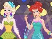 Printesa Elsa vs Ariel