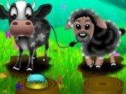 Lisa la ferma de oi si vaci
