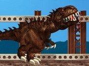 T-Rex mananca oamenii din Londra