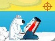 Ursul polar si Tunul cu pinguini 2