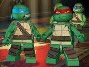 Antrenament cu Testoasele Ninja Lego