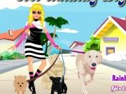 Cindy La plimbare cu cainele
