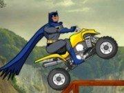 Batman provocare cu atv-ul