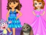 Dora si Printesa Sofia intai