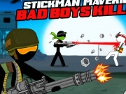 Soldatul Stickman Maverick : Bad Boys Killer