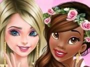 Printesele Elsa si Tiana