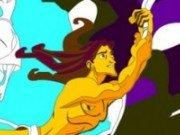 Imagini de colorat cu Tarzan