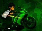 Ben 10 cu Motocicleta 3D