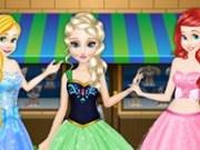 Elsa, Rapunzel și Ariel Magazinul cu animale de companie