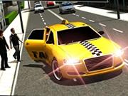 Sofer de taxi simulator in oras