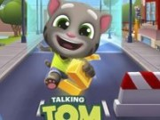 Talking Tom alearga din  Mina de aur