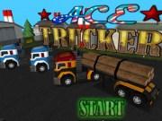Camioane care transporta lemne