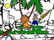 Coloreaza animalele de la Zoo