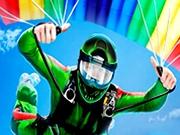 Simulator de zburat cu parasuta