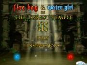 Baiatul Foc si Fata Apa Templul din padure