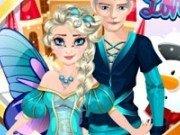Elsa si Jack de Halloween