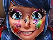 Ladybug Machiaj Picturi pe fata