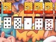 Joc de solitaire cu Garfield