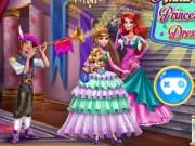Anna si Ariel Dress Up de Ball
