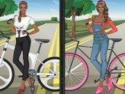 o zi de primavara cu bicicleta