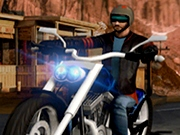 Cursa 3 D cu motocicleta Moto Cruiser Highway