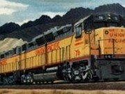 Tren marfar Obiecte ascunse
