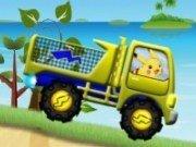 Pika Poke in cursa cu camionul