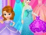 Elsa in magazinul de rochii