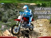 Cursa extrema in munti cu scuterul