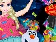 Halloween cu Elsa Anna si Olaf