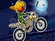 Moto X3m Spooky Land de Halloween