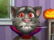 Talking Tom costum de Halloween