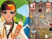 Machiaza Fata indianca