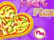 Pizza in forma de inima