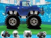 Spala si repara masina Monster Truck