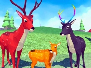 Familie de Caprioare Simulator 3D