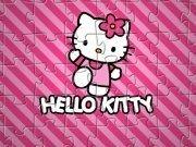 Jigsaw cu Hello Kitty