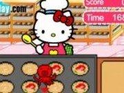 Hello Kitty briose cu peste