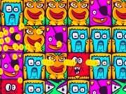 Match 3 imagini cu fețe haioase