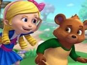Aventura in padure cu Goldie si ursulet