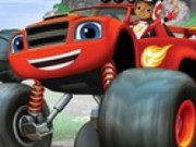 Blaze Monster Truck Stele ascunse