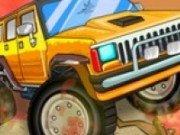 Cursa de masini cu camioane