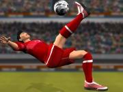 Fotbal gol din foarfeca