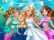 Sirena Barbie in Rochie de Mireasa