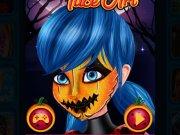 Buburuza Miraculoasa Picturi pe fata de Halloween
