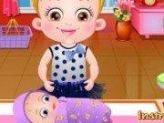 Baby Hazel merge la vaccin